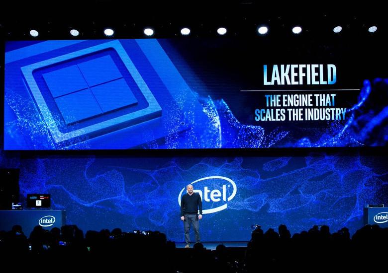 Intelの新SoC Lakefield
