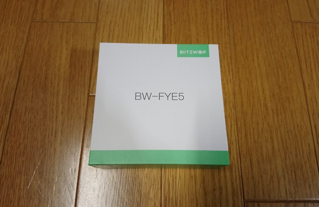 Blitzwolf BW-FYE5 レビュー