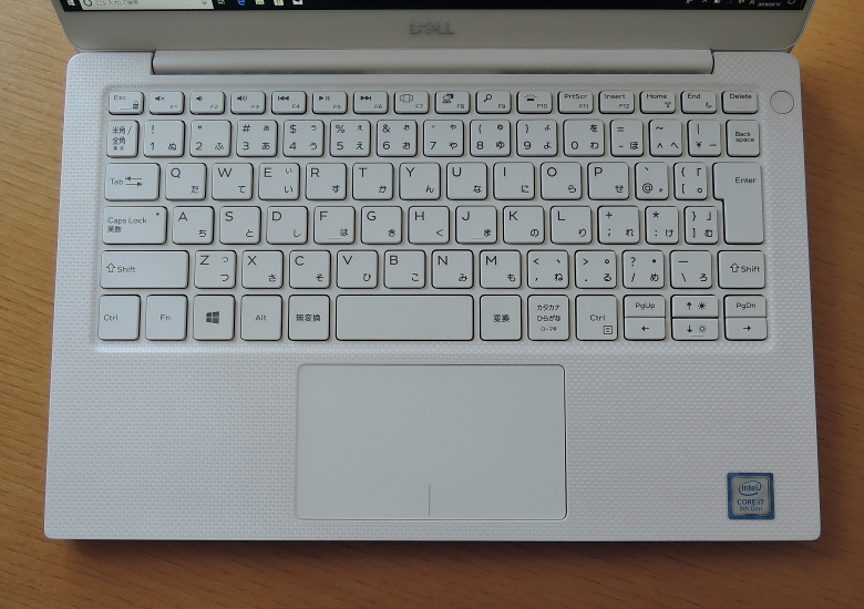 DELL XPS 13(9380)キーボード