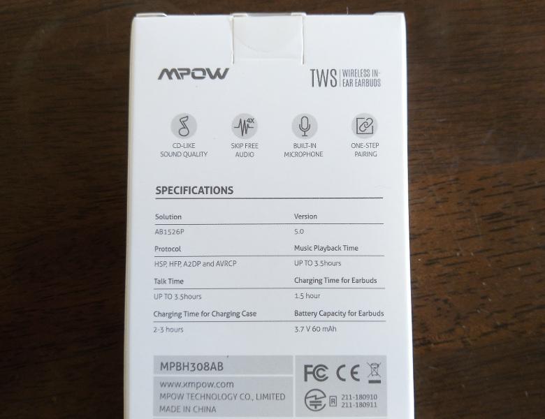 Mpow T3 レビュー