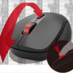 ナカバヤシ Digio2 高速スクロール 小型静音3ボタン BlueLEDマウス - フエルアルバムじゃないの?「神速」マウスなの?