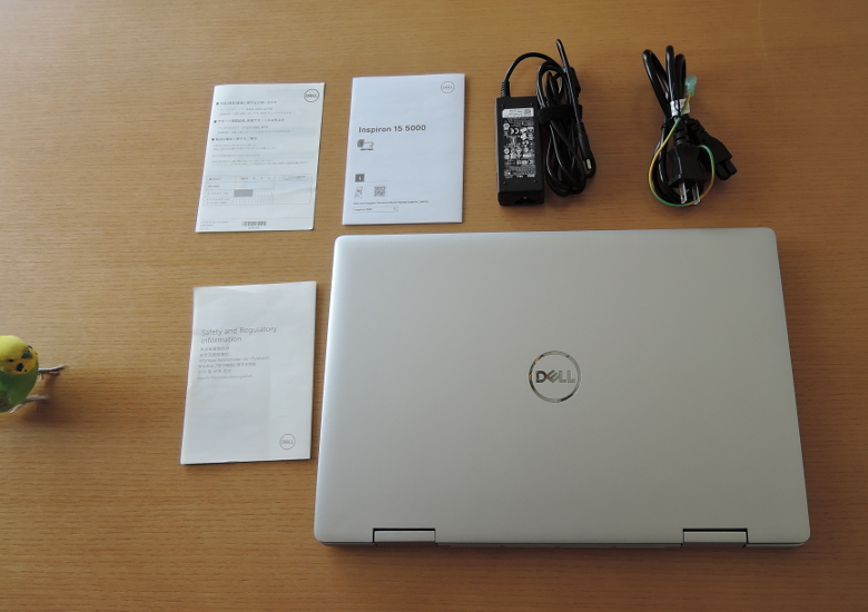 DELL Inspiron 15 5000 2-in-1(5582)同梱物