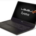 iiyama LEVEL-16FR100-i7 - え?16.1インチ?ちょっと変わったディスプレイサイズの高性能ゲーミングノート