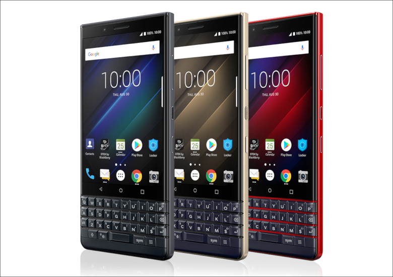 BlackBerry KEY2 LE デザイン