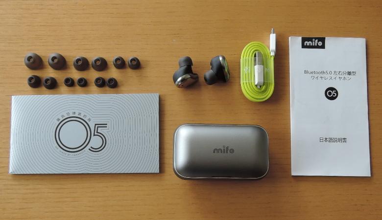 mifo O5 ワイヤレスイヤホン