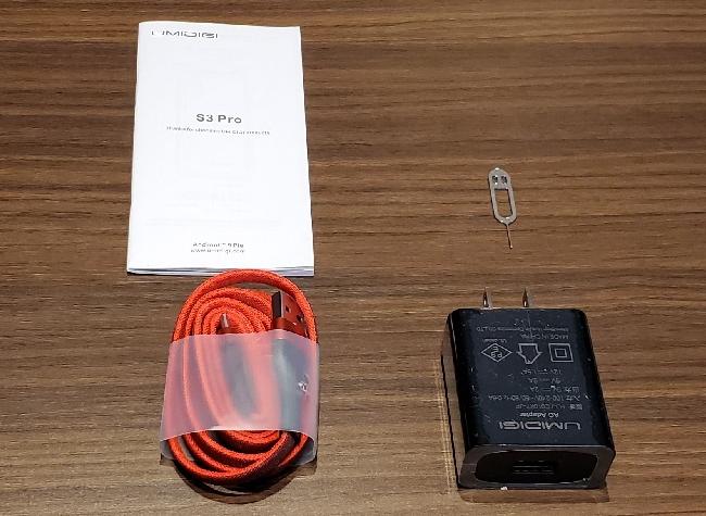 UMIDIGI S3 Pro 付属品