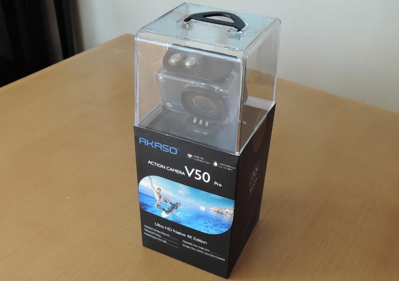 AKASO V50 Pro パッケージ