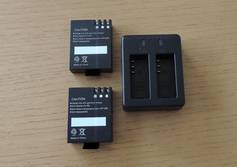 AKASO V50 Pro バッテリー