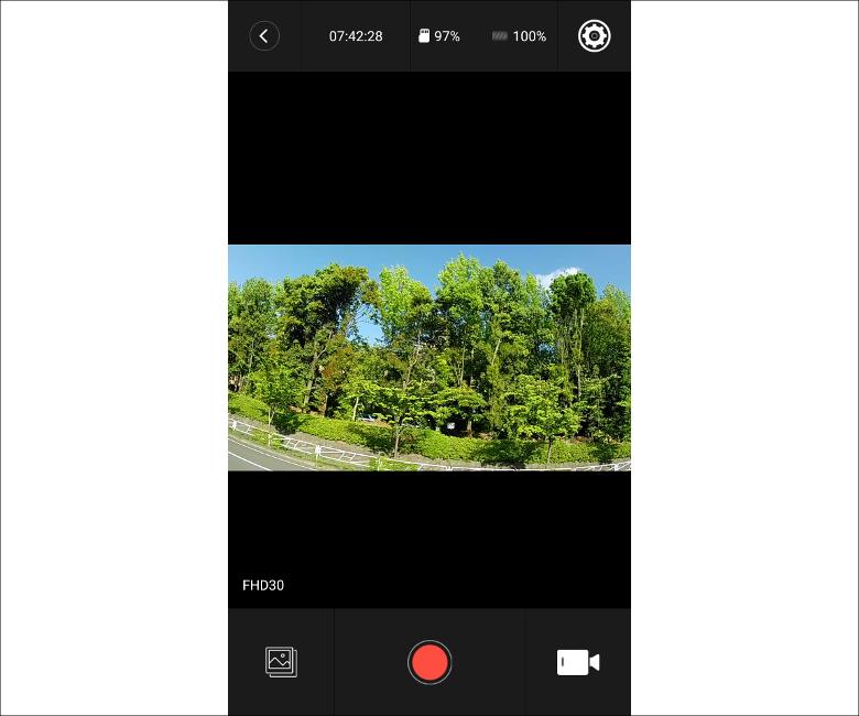 AKASO V50 Pro モニター アプリ