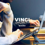 Qrosubo VINCI - これならいける!超軽量でかさばらないノートPCスタンドが低価格で発売されました!