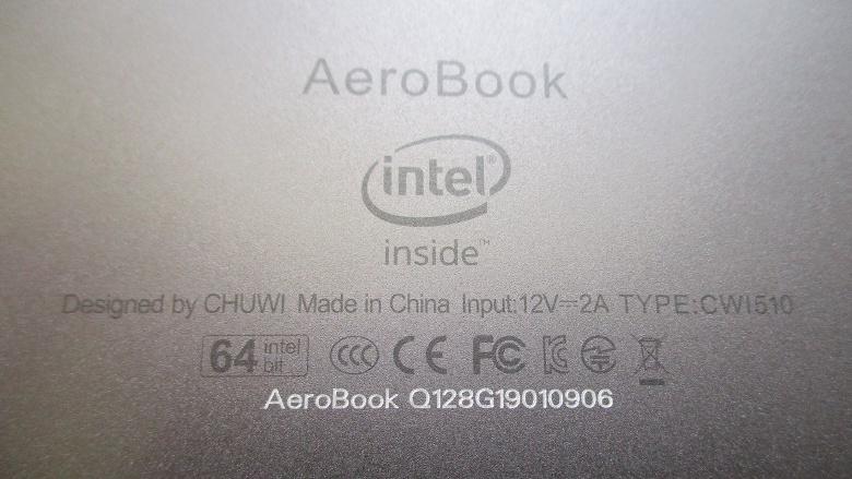 CHUWI AeroBook レビュー
