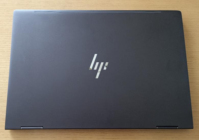 HP ENVY x360 13-ar0000 レビュー 天板