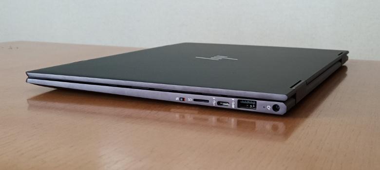 HP ENVY x360 13-ar0000 レビュー 右側面