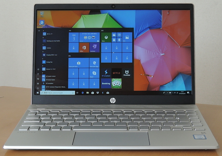 HP Pavilion 13-an0000 正面