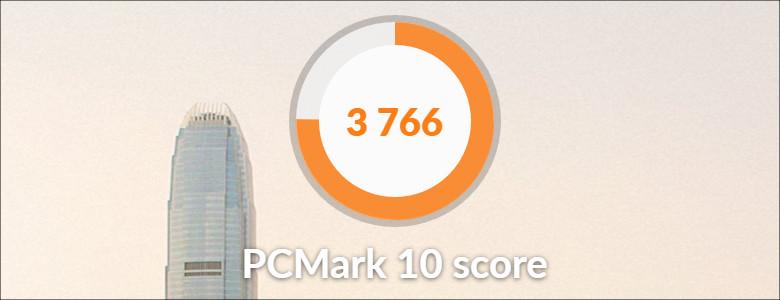 HP Pavilion 13-an0000 PC Mark
