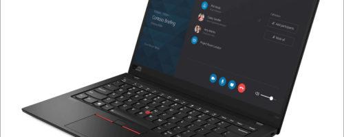 Lenovo ThinkPad X1 Carbon / X1 Yoga - ThinkPadシリーズのハイエンド・モバイルに第10世代Core iプロセッサーが搭載されました!