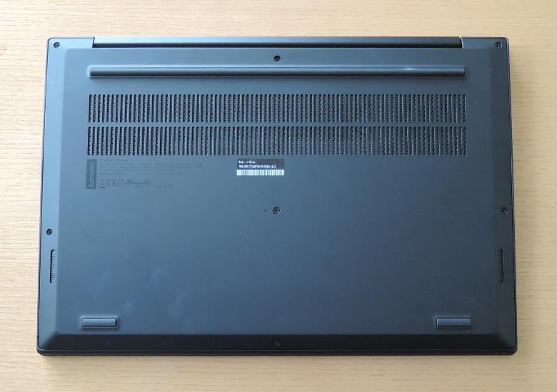 Lenovo ThinkPad X1 Extreme 底面