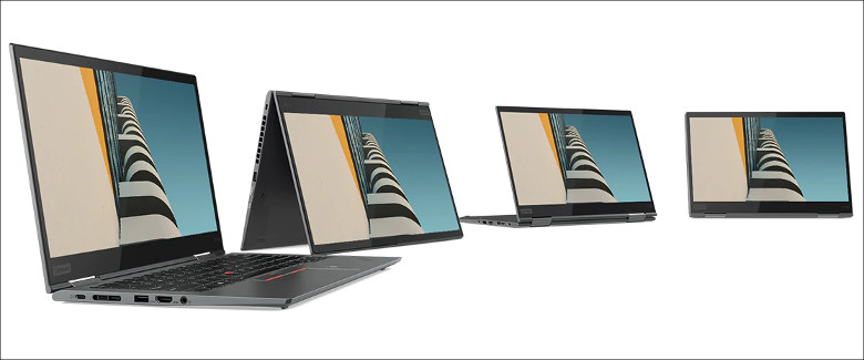 ThinkPad X1 Yoga(2019) 各種モード