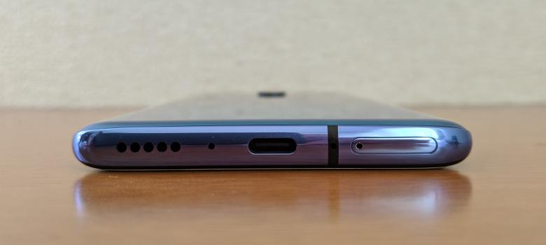 OnePlus 7 Pro レビュー 下面