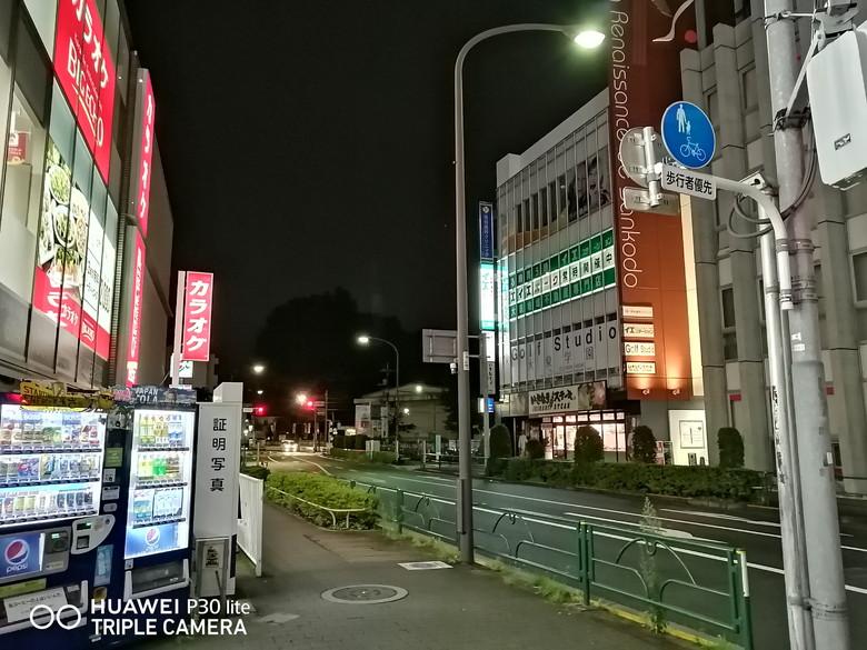 夜景モードサンプル