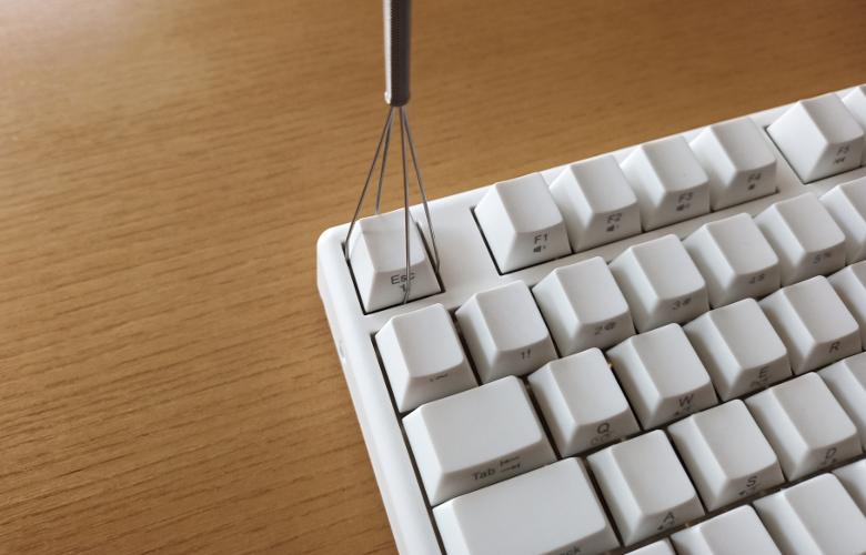 AKEEYO NIZ 静電容量 無接点 Bluetooth/有線 両対応 キーボード 令和限定版 キーキャップ引き抜き