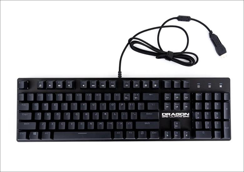 上海問屋  USBドラゴンキーボード DN-915866