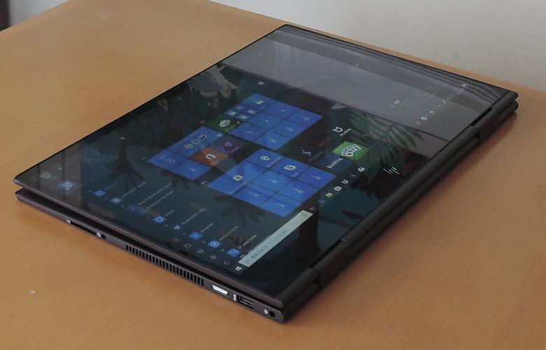 HP ENVY x360 15 タブレットモード