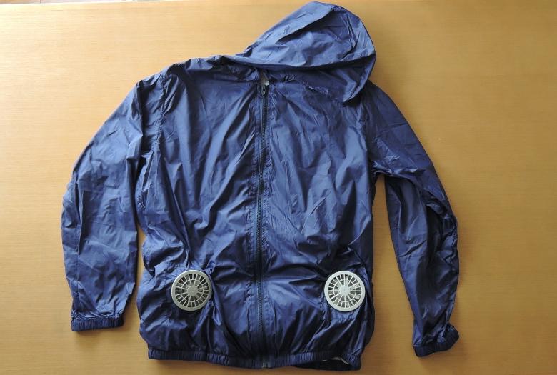 VINMORI スポーツジャケット(空調服)前面