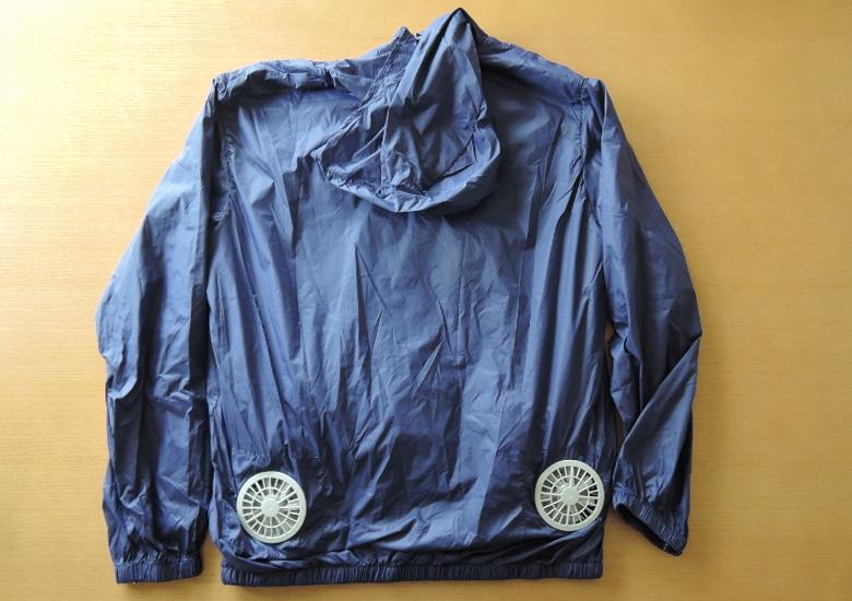 VINMORI スポーツジャケット(空調服)背面