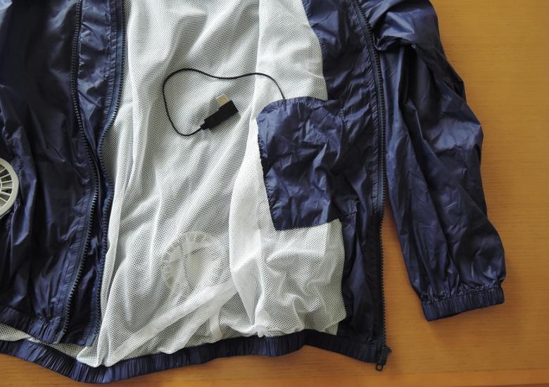 VINMORI スポーツジャケット(空調服)内ポケット