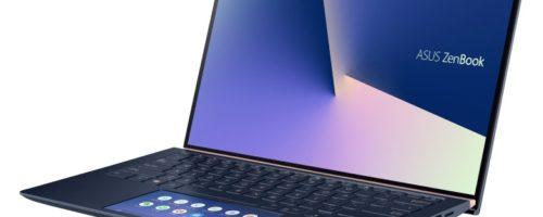 ASUS ZenBook 14 UX434FL - タッチパッドがサブディスプレイ!ZenBookの14インチにニューモデル、30周年記念モデルも!