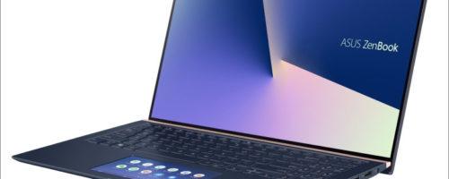 ASUS ZenBook 15 UX534FT - タッチパッドがサブディスプレイ!ゲームも編集も楽しみたいという人にピッタリの15.6インチノート