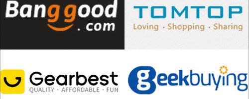 独断と偏見で中華通販サイトを比較してみる - Banggood、Gearbest、Tomtop、Geekbuyingを使ってみて