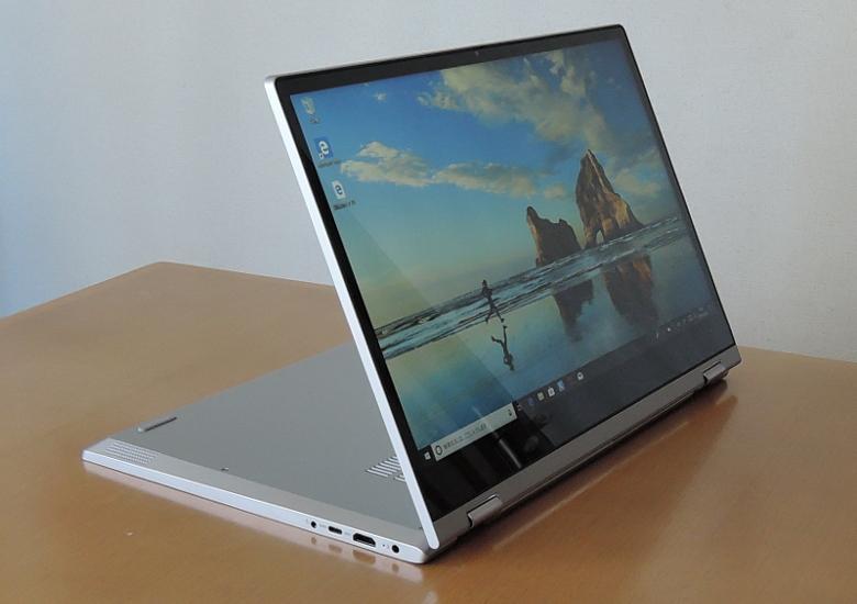 Lenovo IdeaPad C340 (15) スタンドモード
