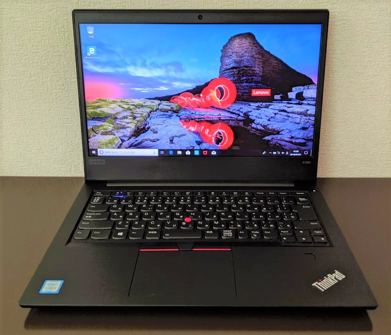 Lenovo ThinkPad E490 レビュー