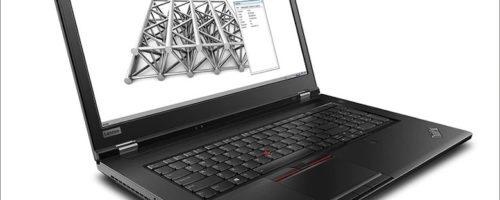 Lenovo ThinkPad P73 - ThinkPad最大となる17.3インチサイズ!ハイエンドにしてセキュアな構成を選択できるモバイルワークステーション