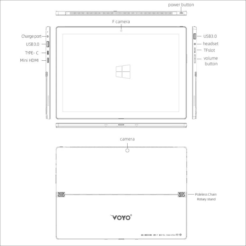 VOYO VBOOK i7(Celeron)