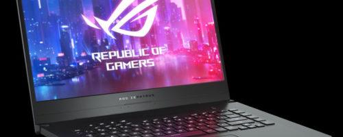 ASUS ROG Zephyrus G GA502DU - 15.6インチのスリムなゲーミングノート。Ryzen 7 3750HとGeForce GTX 1660 Tiの組み合わせです!