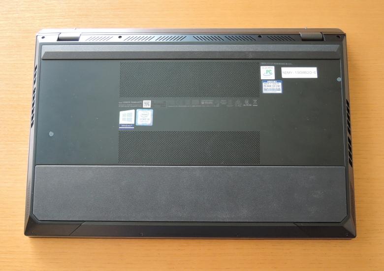 ASUS ZenBook Pro Duo UX581GV 底面