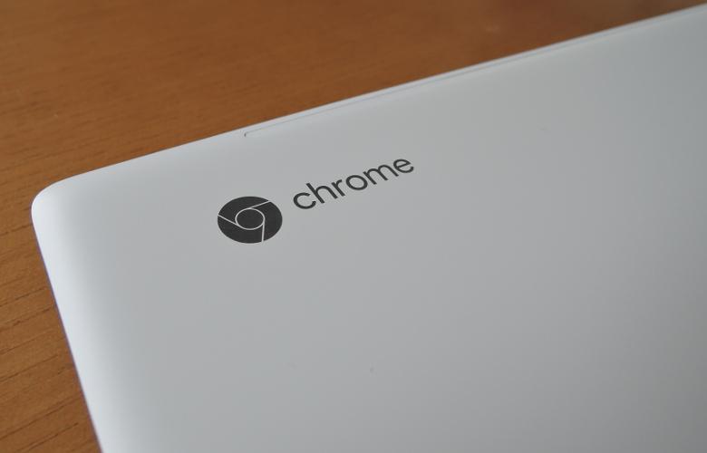 HP Chromebook x360 14 天板拡大