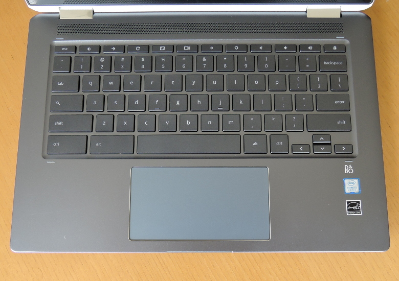 HP Chromebook x360 14 キーボード