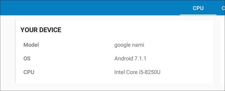 HP Chromebook x360 14 システム情報