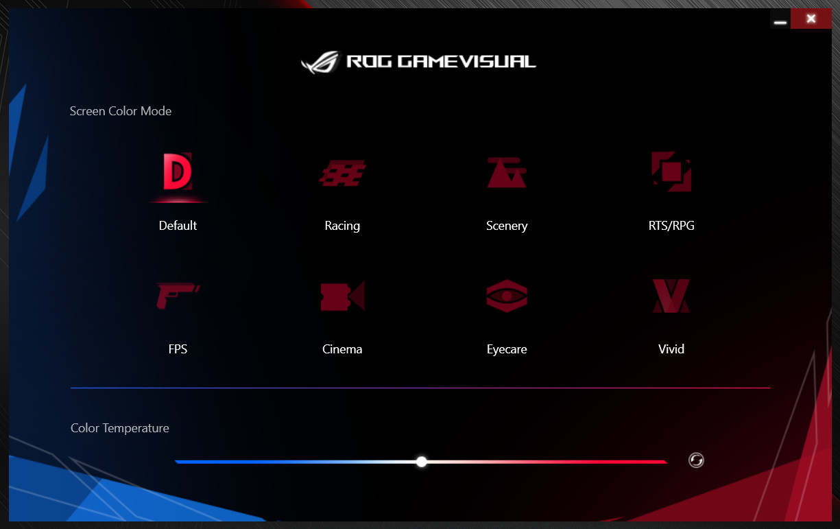 ASUS ROG Zephyrus S GX502GV GAME VISUAL