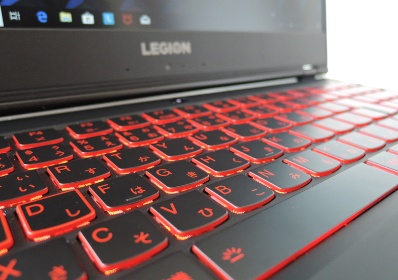 Lenovo Legion Y7000 キーボード