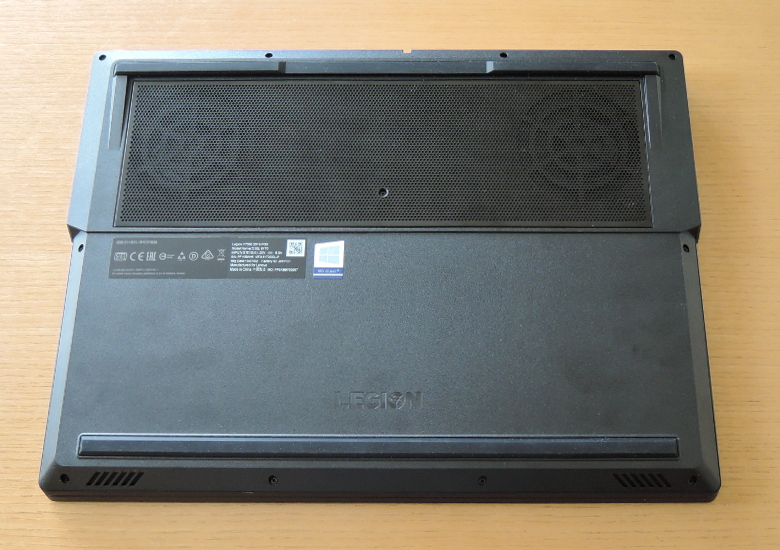 Lenovo Legion Y7000 底面
