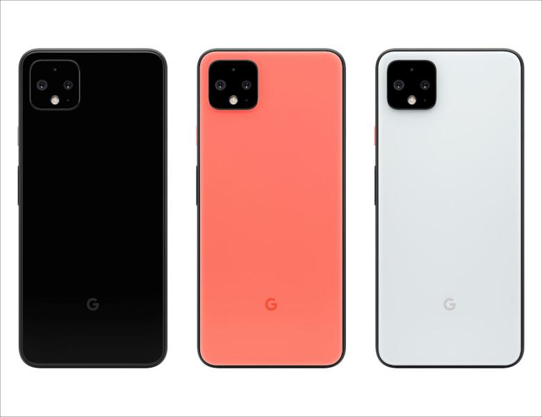 Google Pixel 4 背面