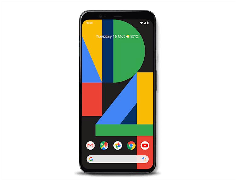 Google Pixel 4 デザイン