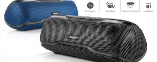 EasyAcc WirelessSpeaker F10 レビュー - 上質なボディとリッチな低音の響きは1クラス上の聴きごたえ!パーティを盛り上げる独自機能も!(実機レビュー)