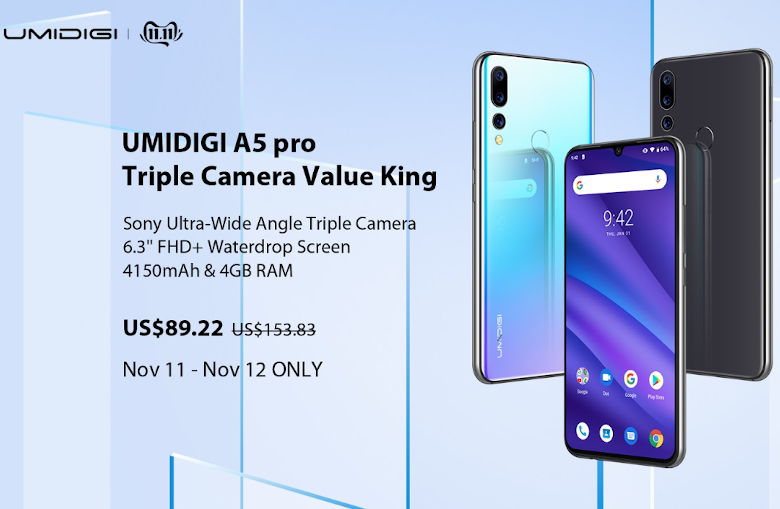 UMIDIGI A5 pro sale