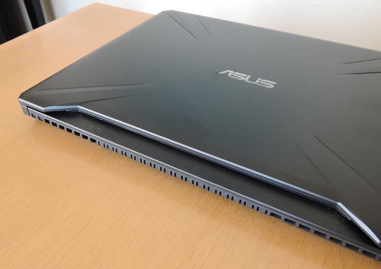 ASUS TUF Gaming FX505DT 天板
